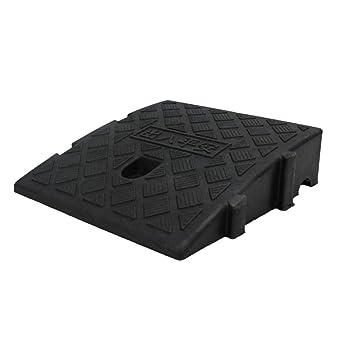 C-J-Xin Rampas para sillas de ruedas, Cojín de pendiente de plástico Umbral Rampas