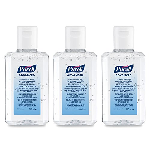 PURELL® Advanced Hygienic Hand Rub (3 x 100ml Bottle)