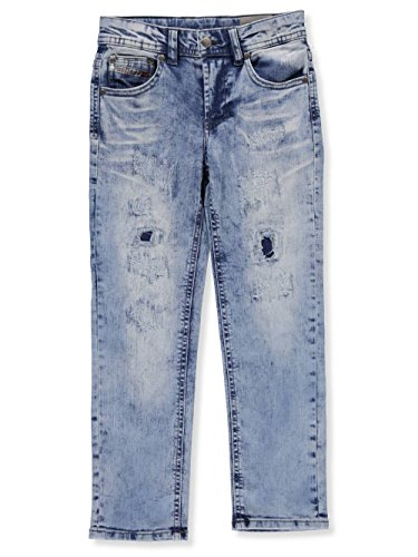 Diesel Little Boys' Straight Jeans - Bleach wash, - Jeans Diesel Kids