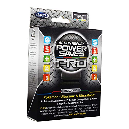 Datel Action Replay Power Saves Pro - Nintendo 3Ds (Best R4 Card For 2ds)