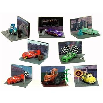 Amazon.com: Disney Pixar Cars Mini Figures Set - Vending Machine ...