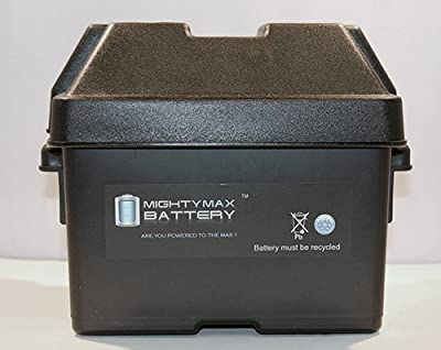 Group U1 Battery Box for Lawn Mower Equipment, Wheelchair - Mighty Max Battery brand product