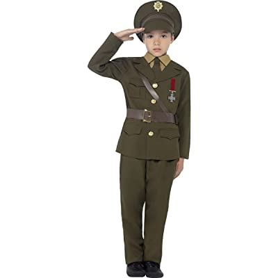 Smiffys Army Officer Costume: Toys & Games