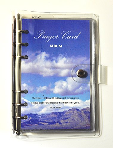 Prayer Card Album (Card Religious Album)