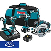 Makita Xt446T Lithium Ion Brushless Cordless Overview