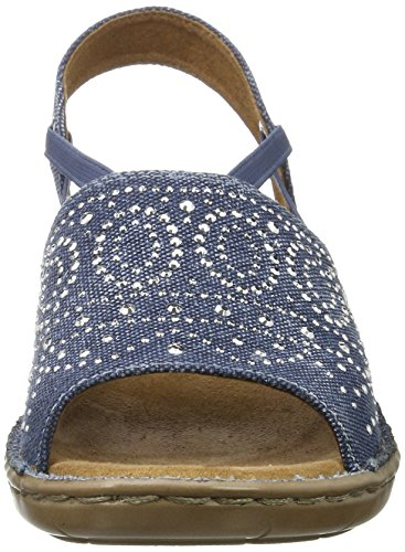Bride 57262 Korsika ARA Bleu Sandale ARRIER Indigo DJEAN q8t5R5yA