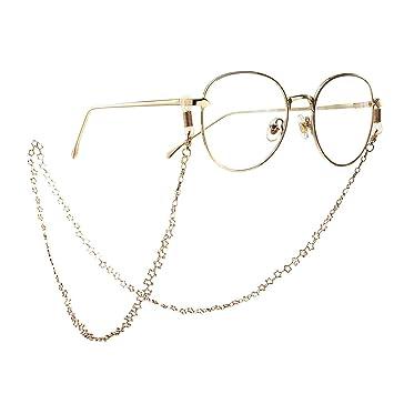 Correa De Cadena De Anteojos Decorativos Antideslizante Metal Star Gafas Colgante Cadena Collar Gafas Gafas Gafas