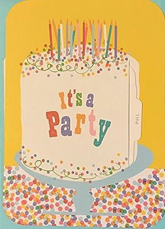 Stupendous Amazon Com 15 Mara Mi Rainbow Birthday Cake Slice Party Personalised Birthday Cards Akebfashionlily Jamesorg