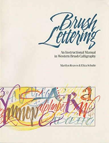 Brush Lettering: An Instructional Manual Of Western Brush Lettering (Peonies Hawaii)