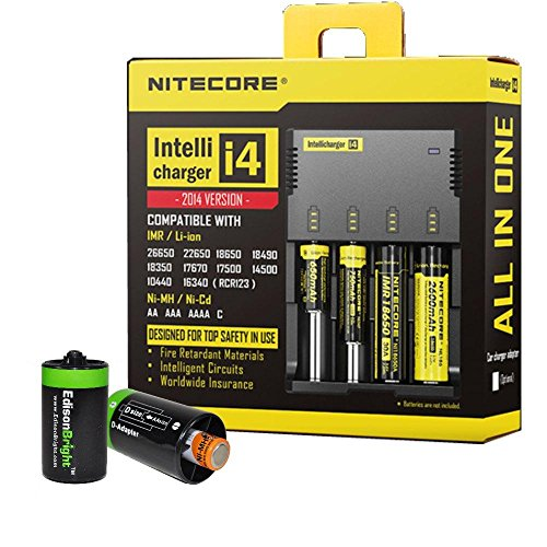 Price comparison product image NITECORE i4 Intellicharge universal smart battery Charger