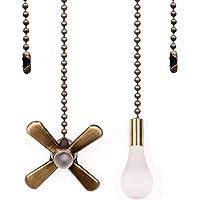 Victorian Butterfly Fan Pull Chain