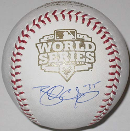 (Brandon Crawford San Francisco Giants signed autographed World Series Baseball, COA with the proof photo will be Included)