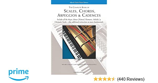 The Complete Book Of Scales Chords Arpeggios Cadences Includes