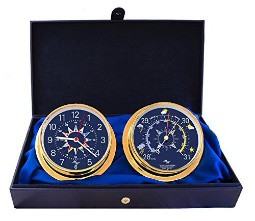 Master-Mariner Blue Mariner Collection, Nautical Cabin Gift Set, 5.75
