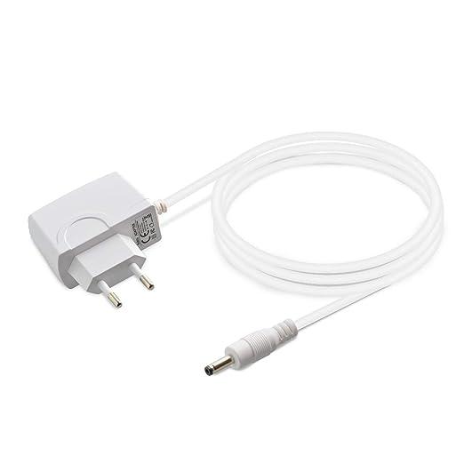 Aukru 6V Adaptador Corriente/Cargador para Tensiómetro de Omron M2, M3, M3W/ HEM-7202-E (V), M6 Comfort/HEM-7223-E, M6W / HEM-7213-E, M10-IT/HEM-7080IT: ...