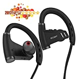 EOBP(TM) Bluetooth Headphones 4.1 wireless headset with microphone Sport Stereo earphones Noise Cancelling IPX5 sweatproof neckband earbuds