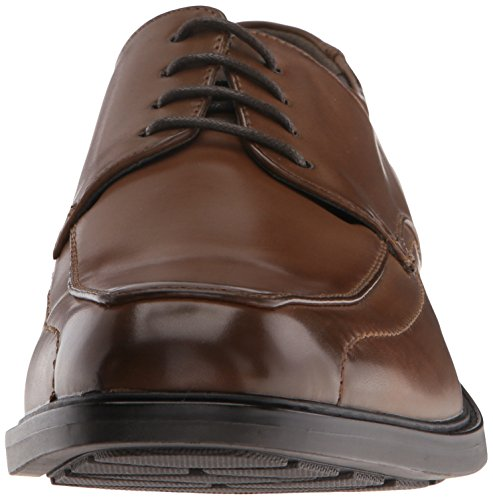 Kenneth Cole Mens Segreta Missione Oxford Cognac