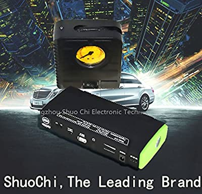 High Technology 30000mah New Style Battery Jump Starter with Compressor