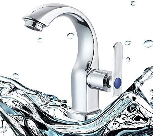 Sideritシングルハンドル真鍮の蛇口は、バスルームの洗面シンクの蛇口冷たい水の蛇口のバルブはトイレ混合用蛇口を幹