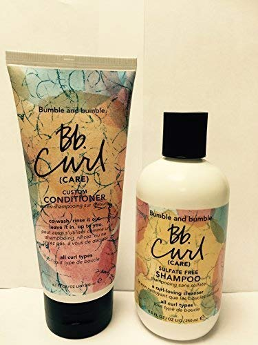 Bumble and Bumble Curl Care Shampoo 8.5 oz & Conditioner 6.7 oz by Bumble and Bumble