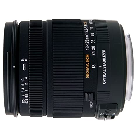 Sigma Wide Angle Telephoto mm f DC Sigma Negro