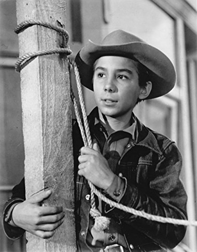 Laminated Poster: The Rifleman Johnny Crawford