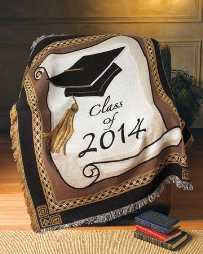 2014 Graduation Blanket Throw Gift - Order Quick These Sell Out Fast!