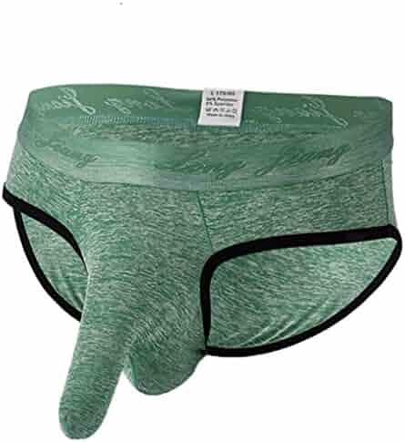 71416faa9d39 Men Boxer Briefs Long,Vanvler Male Underpants - Sexy Knickers Shorts Soft  Underwear (XL