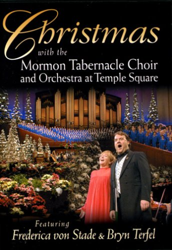 amazoncom christmas with the mormon tabernacle choir and orchestra at temple square featuring frederica von stade bryn terfel movies tv