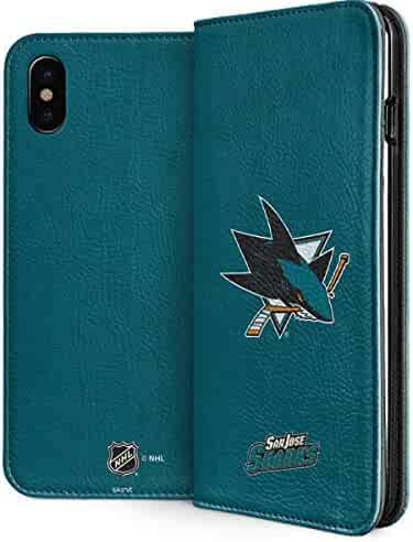 aa94fe5cc94 San Jose Sharks iPhone X Case - San Jose Sharks Distressed | NHL & Skinit  Folio