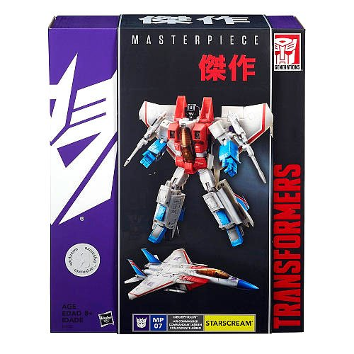 Costume Quest Plot (Transformers Masterpiece MP 07 Starscream Toys R Us Exclusive)