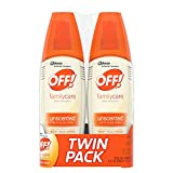OFF! FamilyCare Insect Repellent IV Unscented, 2 ct, 6 fl oz