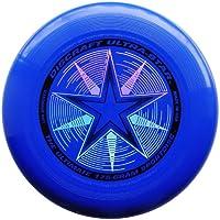 "Discraft Ultra-Star 175g Ultimate Frisbee ""Starburst"" - royal"