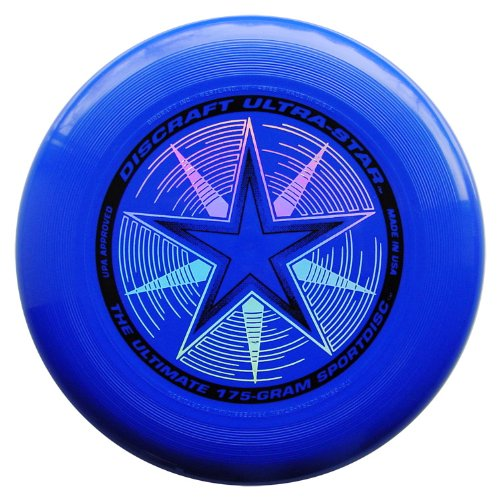Discraft Ultimate Disc - Ultra Star 175gms. Frisbee - Blue