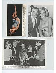 Daniela Bianchi original clipping magazine photo lot #R6027
