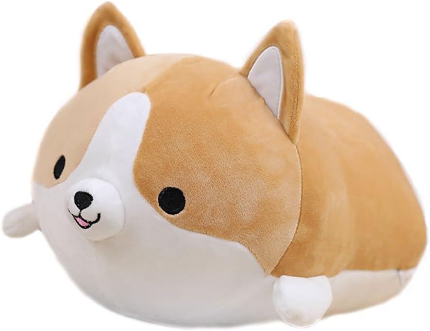 MathewArt Cute Funny Corgi Dog Butt Plush Pillows Soft Toys