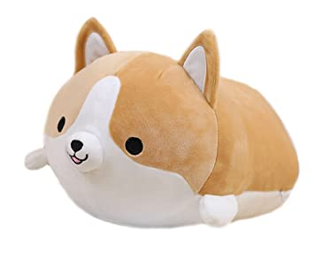 Cute Funny Corgi Dog Butt Plush Pillows Soft Toys by Mathew Art