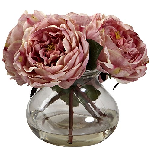 Fancy Rose Vase Arrangement in Pink