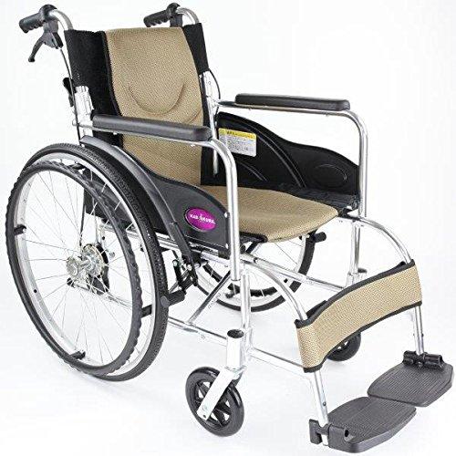 自走用車いす 車イス 車椅子 「ZEN-禅-」軽量 コンパクト 背折れ 折りたたみ ノーパンクタイヤ バンドブレーキ メーカー保証1年付き カドクラ G (ゴールド)) B01MYZJKVK 黄金(ゴールド) 黄金(ゴールド)