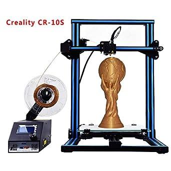 Amazon.com: Monitor de filamento HICTOP CR-10S para ...