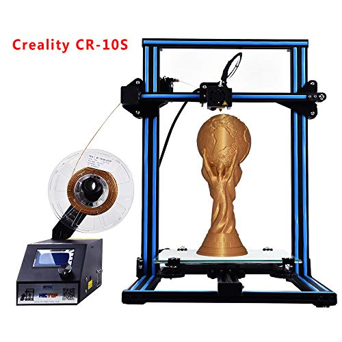 - Creality CR-10S 3D Printer HICTOP Filament Monitor Dual Z axis Screw Rods 300x300x400mm