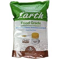 Harris Diatomaceous Earth Food Grade, 5lb w/ Powder...