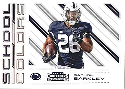 separation shoes d87cc cbdb0 Amazon.com: 2018 Panini Contenders Draft Picks School Colors ...