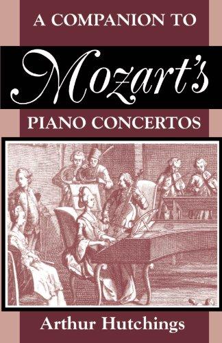A Companion to Mozart's Piano Concertos (Clarendon Paperbacks) by Brand: Oxford University Press, USA