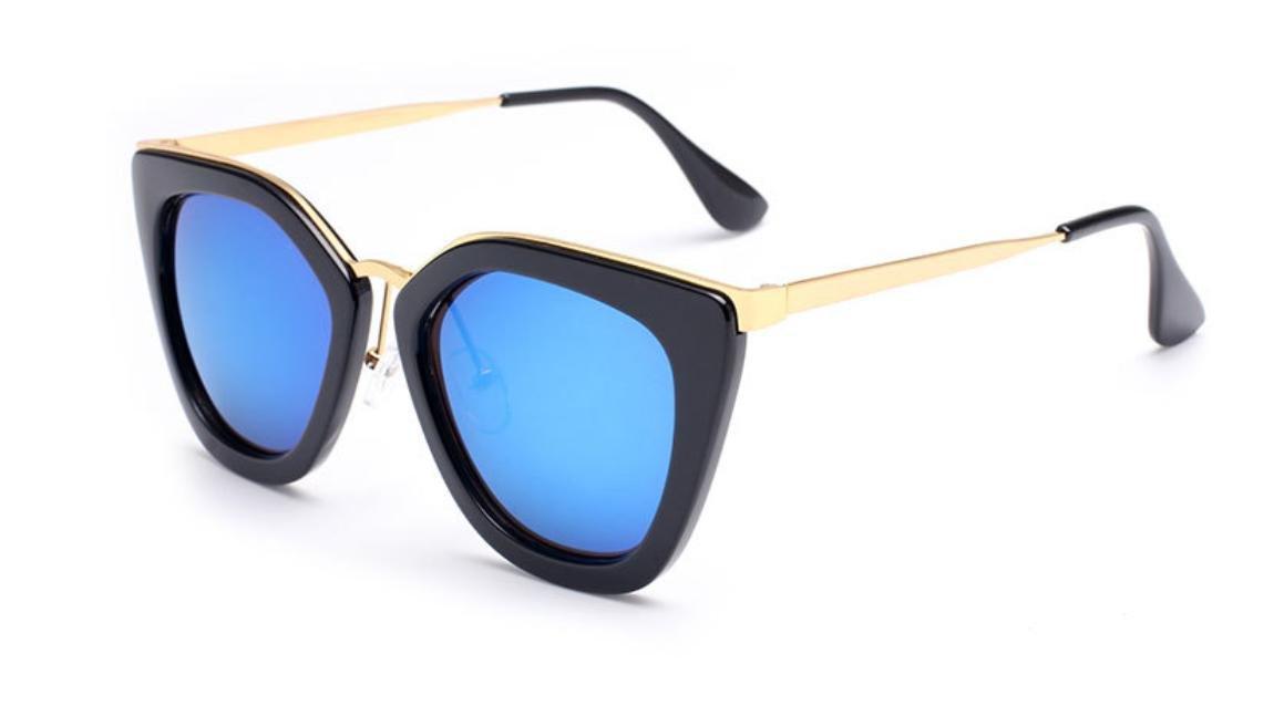 GCR Occhiali Da Sole Ombra Polarizzante Occhiali Gamba-Unità Street Plastica Telaio Ladies Occhiali Da Sole In Metallo , A