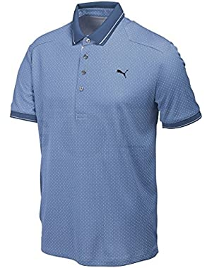 Golf Men's Lux Pattern Polo Shirt