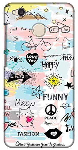 Zapcase Back Cover for Mi Redmi 4 Plastic,Multi Coloured