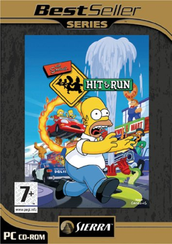 Best Sellers: The Simpsons: Hit & Run (PC) by Sierra UK (The Simpsons Hit And Run Pc Game)