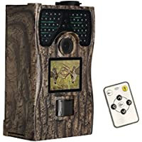 Game Trail Camera 12MP 1080P Hunting Camera Night Vision up to 65ft Waterproof