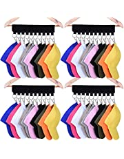 Hat Organizer Hanger, 10 Baseball Cap Holder, Hat Storage for Closet - Change Your Cloth Hanger to Cap Organizer Hanger - Keep Your Hats Cleaner Than a Hat Rack